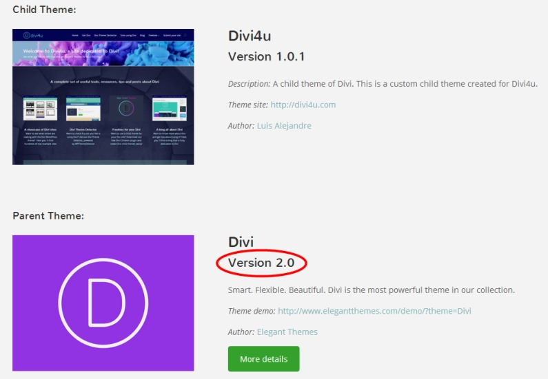 Updating my site to Divi 2.0 – My own experience