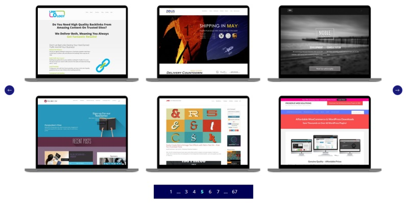 A site all about the Divi WordPress theme