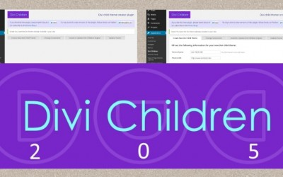 Divi Children 2.0.5 update to fix conflicts with some other plugins