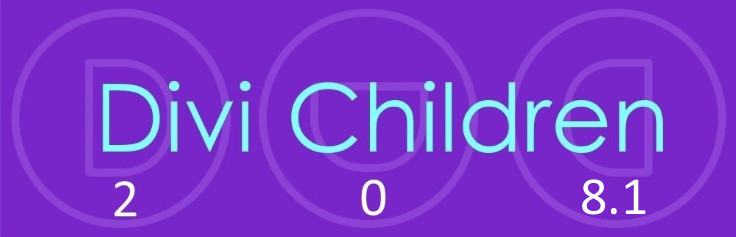 Divi Children 2.0.8.1 works with the latest versions of Divi and WordPress