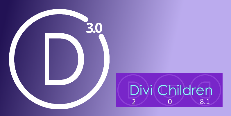 Use Divi Children to create your Divi 3.0 child themes