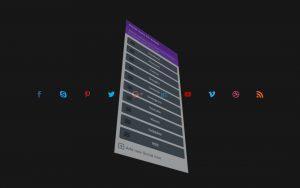 Divi social icons EZ-Builder